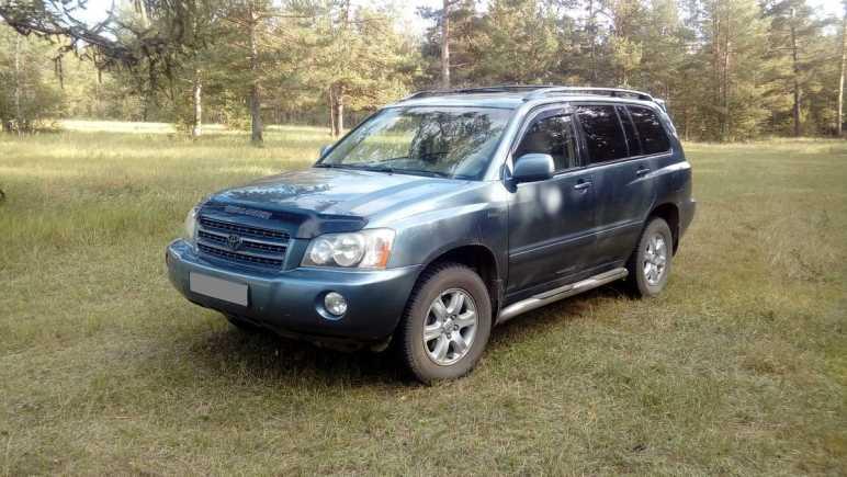 Toyota Highlander, 2003 год, 670 000 руб.