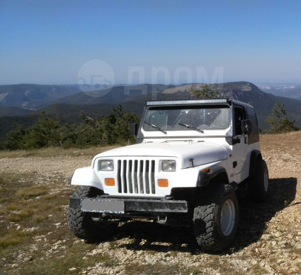 Jeep Wrangler, 1998 год, 600 000 руб.