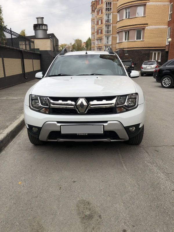 Renault Duster, 2016 год, 590 000 руб.