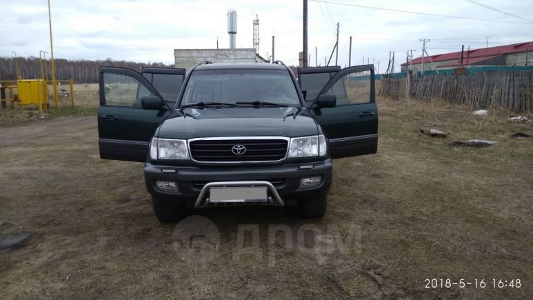 Toyota Land Cruiser, 1998 год, 670 000 руб.