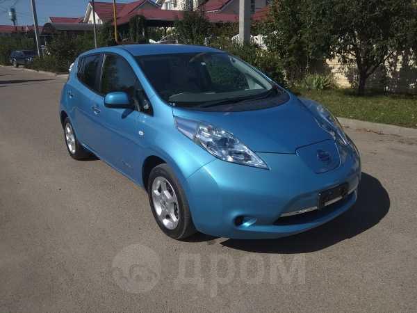 Nissan Leaf, 2012 год, 481 000 руб.