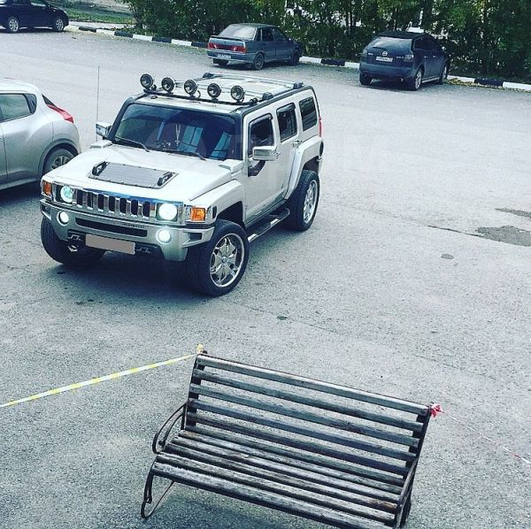 Hummer H3, 2005 год, 1 050 000 руб.