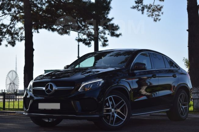 Mercedes-Benz GLE Coupe, 2016 год, 3 880 000 руб.