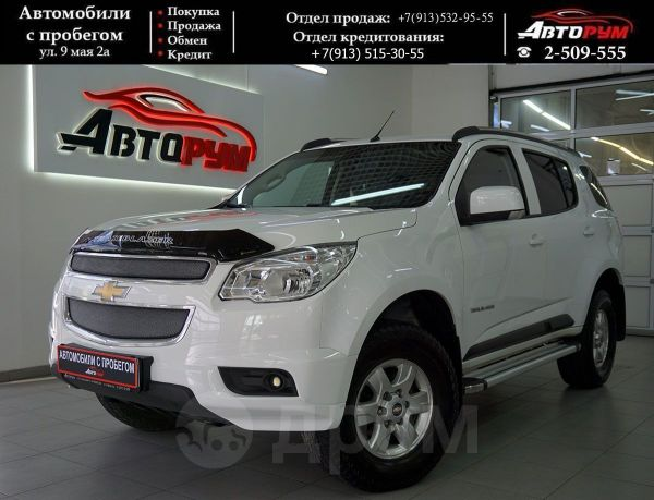 Chevrolet TrailBlazer, 2014 год, 1 097 000 руб.