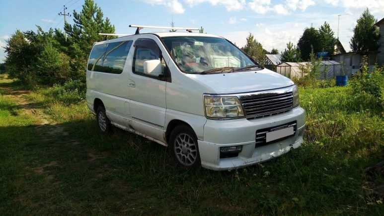Nissan Caravan Elgrand, 1999 год, 370 000 руб.