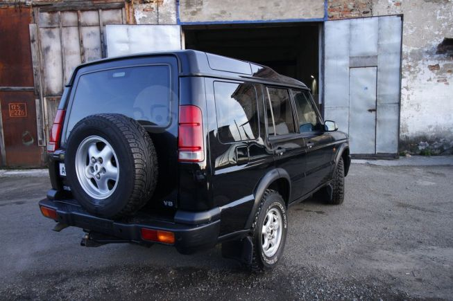 Land Rover Discovery, 2002 год, 550 000 руб.