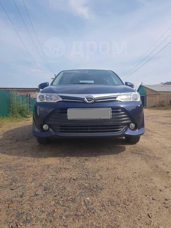 Toyota Corolla Axio, 2015 год, 740 000 руб.
