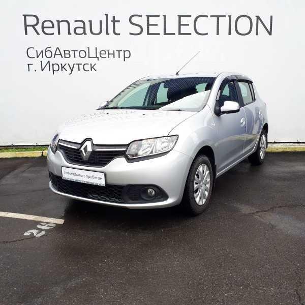 Renault Sandero, 2017 год, 555 000 руб.
