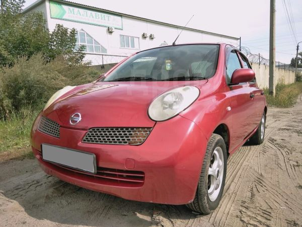 Nissan March, 2003 год, 199 999 руб.