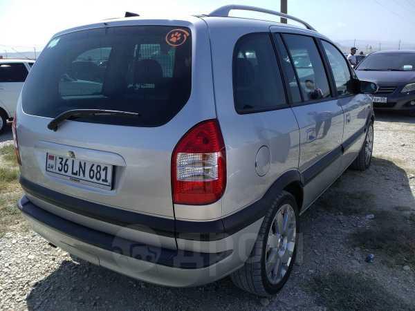 Opel Zafira, 2003 год, 390 000 руб.
