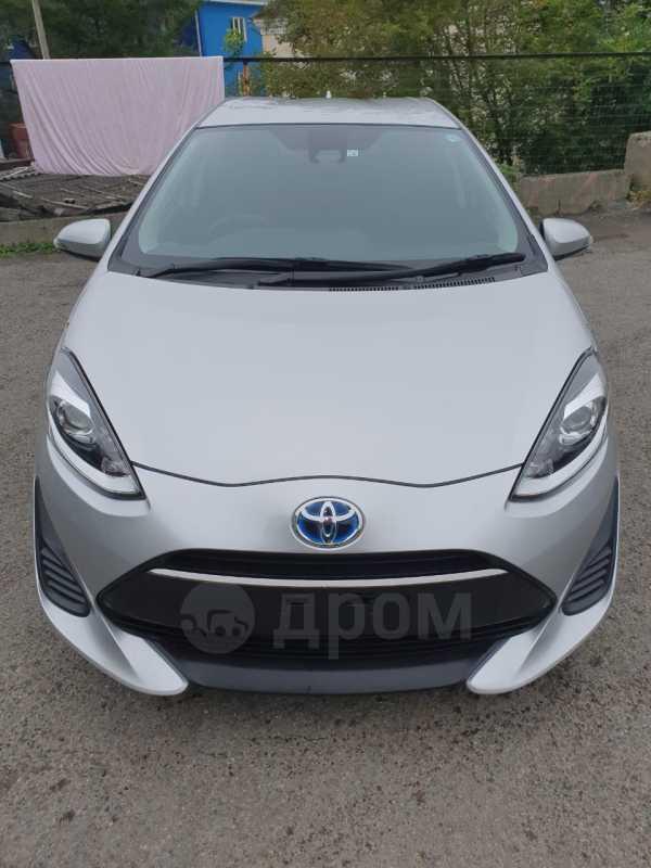 Toyota Aqua, 2018 год, 660 000 руб.