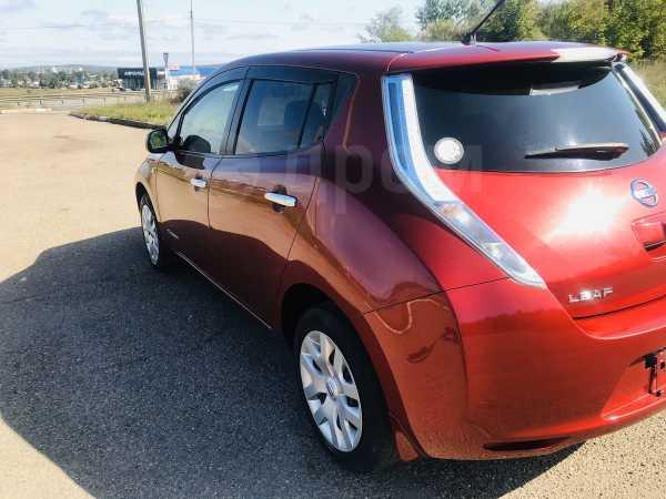 Nissan Leaf, 2013 год, 627 000 руб.