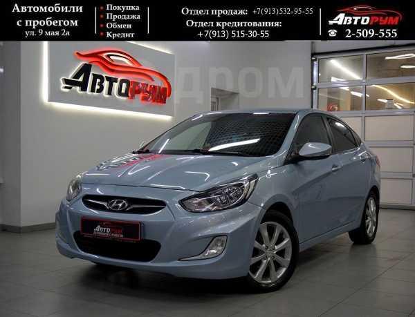 Hyundai Solaris, 2012 год, 527 000 руб.
