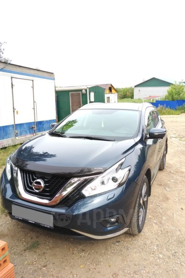 Nissan Murano, 2017 год, 1 980 000 руб.