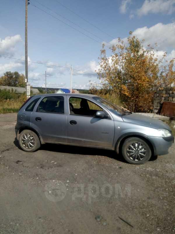 Opel Corsa, 2003 год, 165 000 руб.