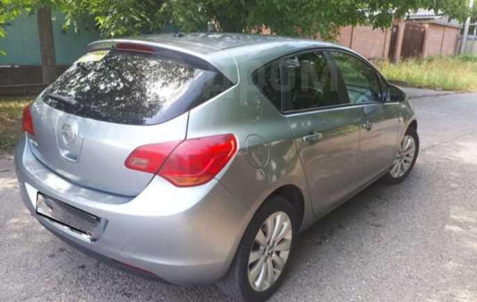 Opel Astra, 2010 год, 428 000 руб.