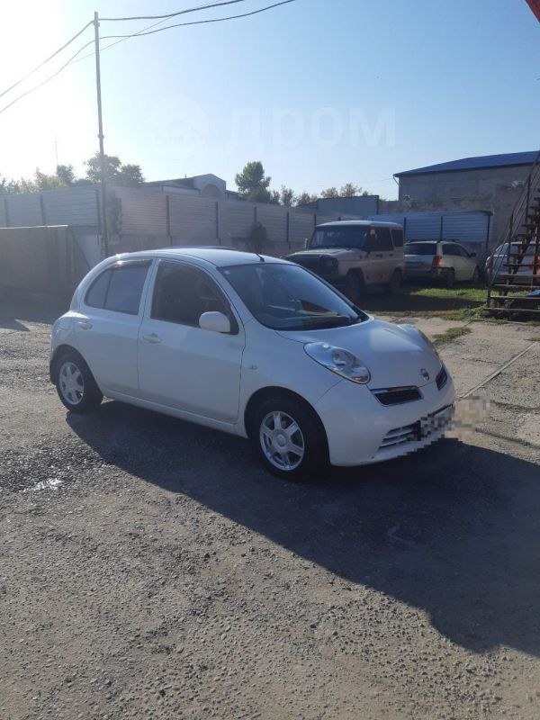 Nissan March, 2007 год, 305 000 руб.