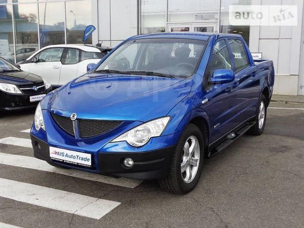 SsangYong Actyon Sports, 2008 год, 299 000 руб.