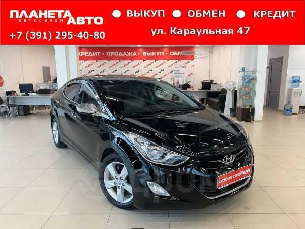 Hyundai Avante, 2011 год, 657 000 руб.