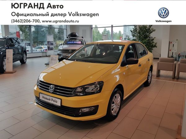 Volkswagen Polo, 2019 год, 686 000 руб.