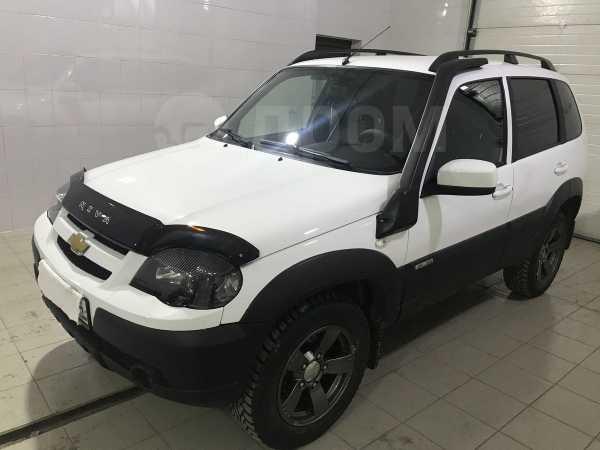Chevrolet Niva, 2017 год, 517 000 руб.