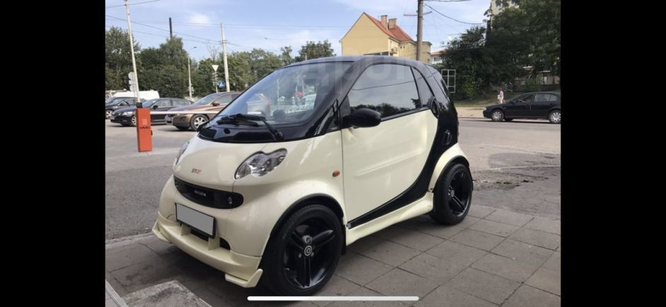Smart Fortwo, 2002 год, 370 000 руб.