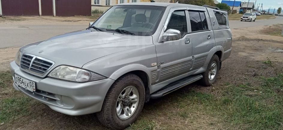 SsangYong Musso Sports, 2006 год, 400 000 руб.