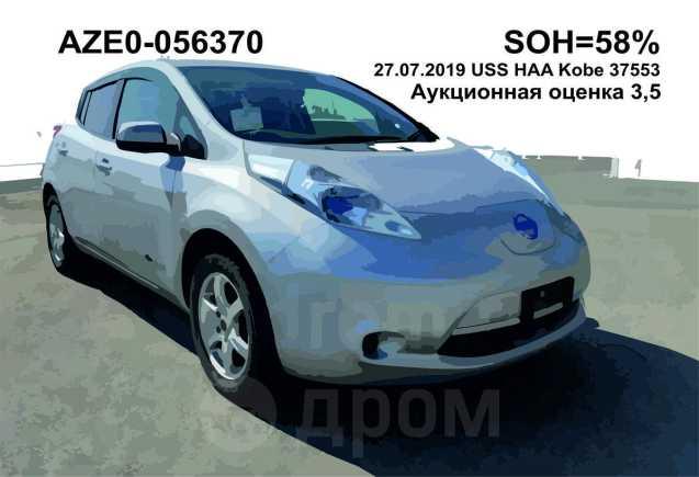Nissan Leaf, 2013 год, 299 000 руб.