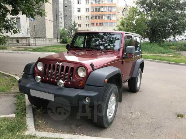 Jeep Wrangler, 2008 год, 1 450 000 руб.