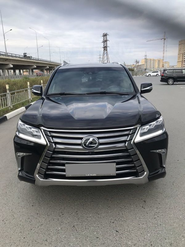Lexus LX570, 2017 год, 6 200 000 руб.