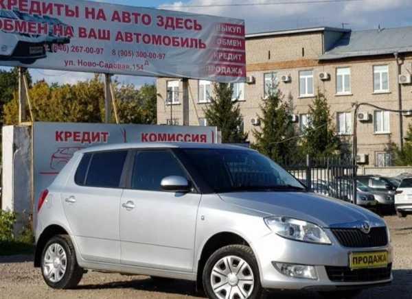 Skoda Fabia, 2014 год, 365 000 руб.