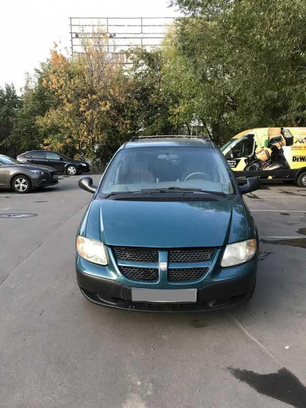 Dodge Caravan, 2002 год, 220 000 руб.