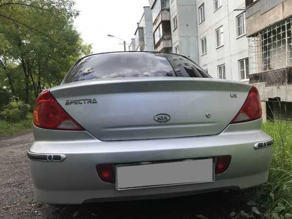 Kia Spectra, 2007 год, 150 000 руб.