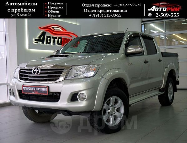 Toyota Hilux Pick Up, 2012 год, 1 222 000 руб.