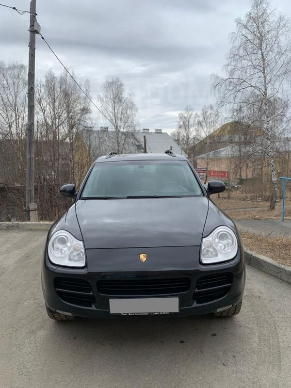 Porsche Cayenne, 2005 год, 670 000 руб.