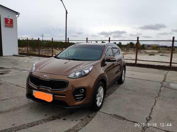 Kia Sportage, 2016 год, 1 430 000 руб.