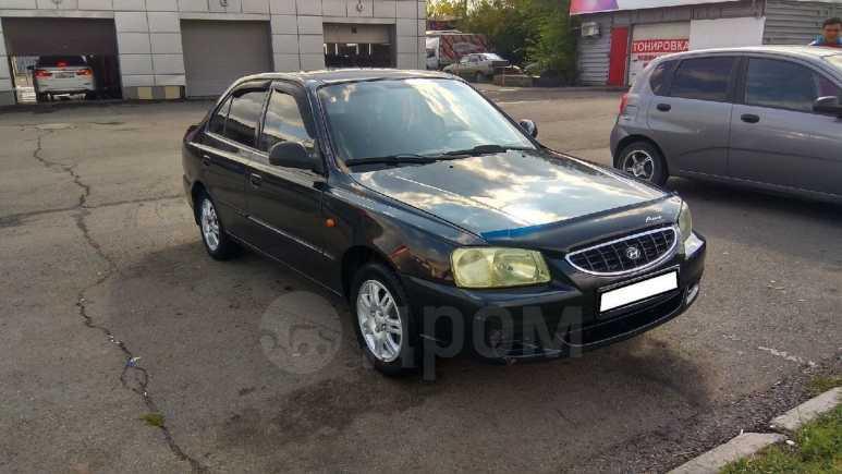 Hyundai Accent, 2006 год, 153 000 руб.