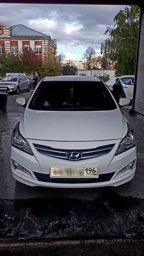 Hyundai Solaris, 2015 год, 530 000 руб.