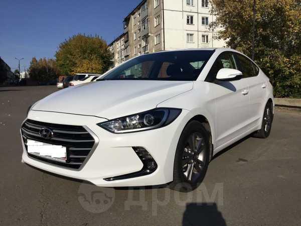Hyundai Elantra, 2018 год, 1 050 000 руб.
