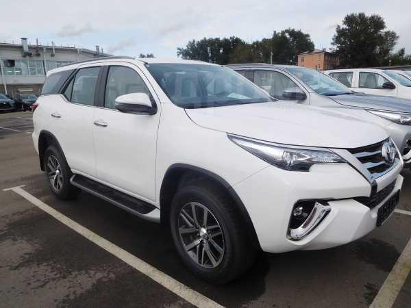 Toyota Fortuner, 2019 год, 3 031 000 руб.