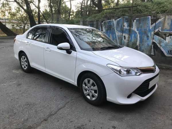 Toyota Corolla Axio, 2016 год, 640 000 руб.
