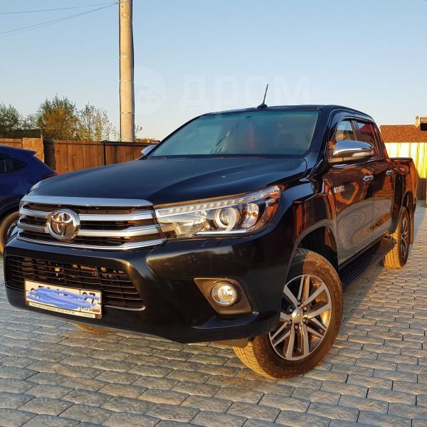Toyota Hilux Pick Up, 2017 год, 2 350 000 руб.