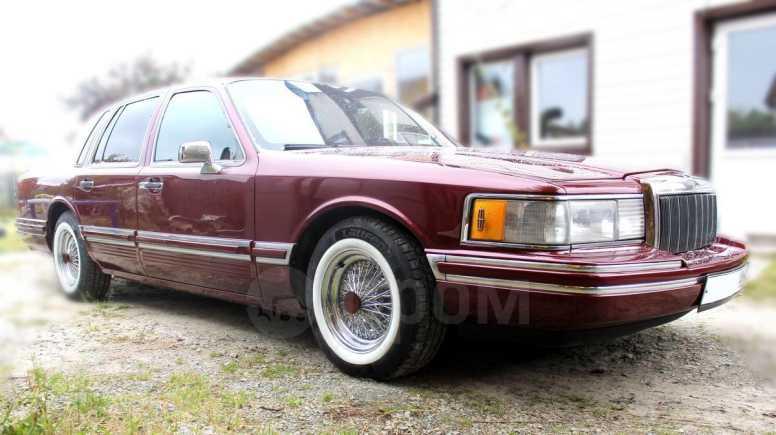 Lincoln Town Car, 1992 год, 600 000 руб.