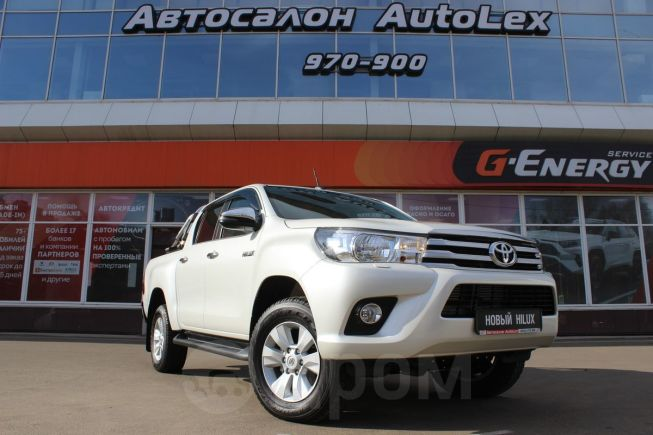Toyota Hilux Pick Up, 2019 год, 2 635 000 руб.
