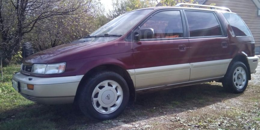 Mitsubishi Chariot, 1991 год, 155 000 руб.