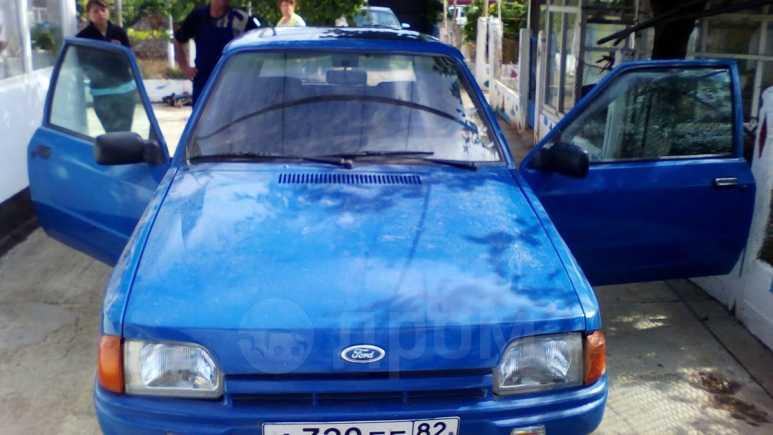 Ford Escort, 1989 год, 60 000 руб.