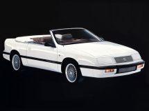 Chrysler Le Baron 1987, открытый кузов, 3 поколение