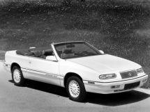 Chrysler Le Baron рестайлинг 1992, открытый кузов, 3 поколение