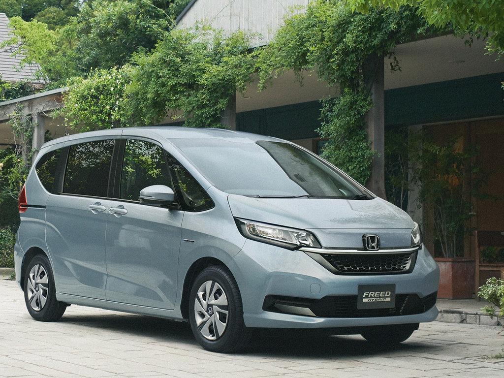 Honda Freed рестайлинг 2019, 2020, 2021, минивэн, 2 поколение технические характеристики и ...