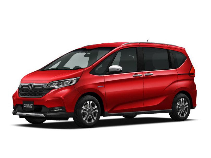 Honda Freed+ рестайлинг 2019, 2020, 2021, минивэн, 2 поколение технические характеристики и ...